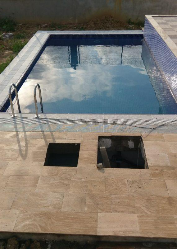 Şile Ali Bey Havuz Yapımı