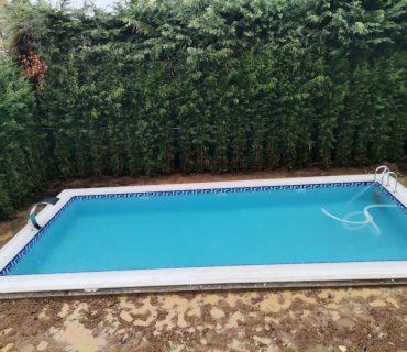 Sinpaş havuz yapımı