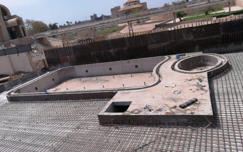havuz kaba inşaatı