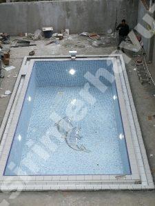 Sarıyer havuz ince inşaatı